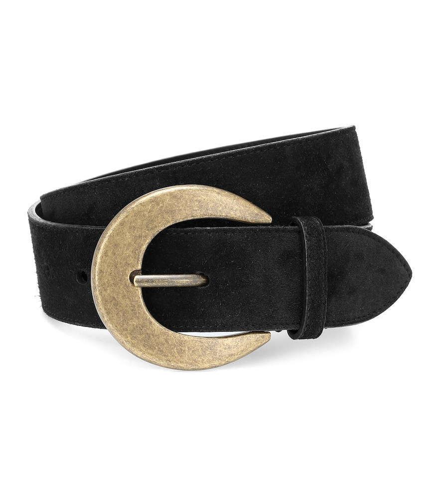 Cinch your looks with this Italian-crafted belt from Saint Laurent.