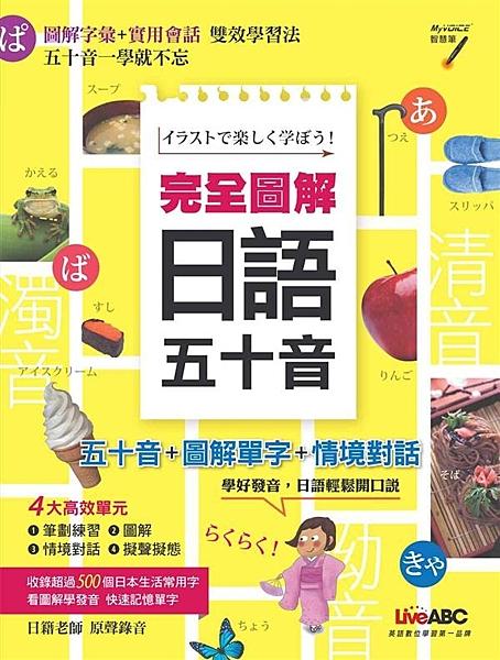 學好這本日語五十音 流利日語沒問題! 你還記得當你學會26個英文字母,狂背了一些...