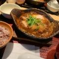 チキン味噌かつ煮定食 - 実際訪問したユーザーが直接撮影して投稿した新宿定食屋大戸屋 新宿東口中央通り店の写真のメニュー情報