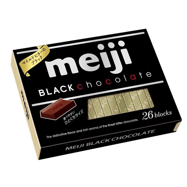 明治代可可脂黑巧克力26枚盒裝 x6入團購組