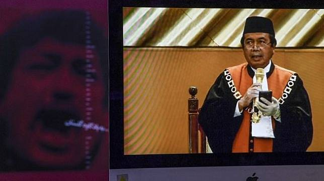 Hakim Agung Syarifuddin terpilih sebagai Ketua Mahkamah Agung periode 2020-2025 menggantikan Hatta Ali yang akan memasuki masa pensiun. (ANTARA FOTO/Hafidz Mubarak A/hp)