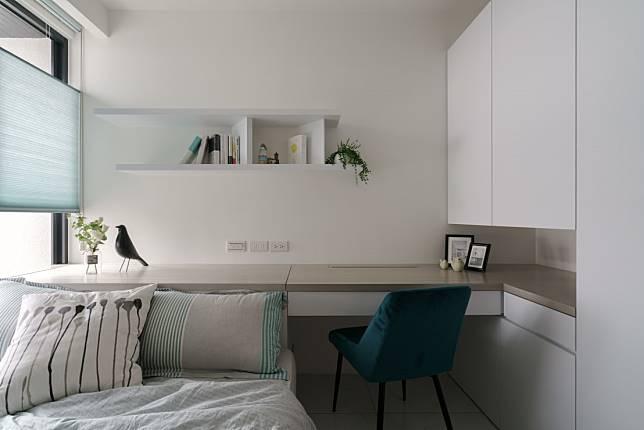 臥室設計實例七:現代風