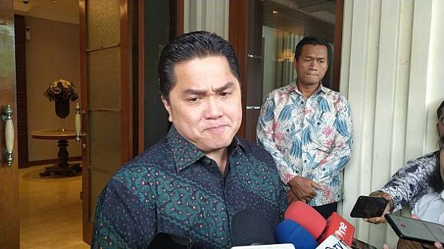 Menteri BUMN Erick Thohir. [Suara.com/Stephanus Aranditio]