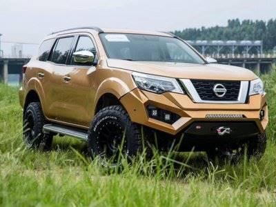 Tampilan Sangar Terhadap Mobil Nissan Terra