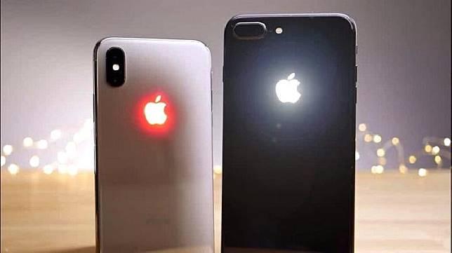 Apple mematenkan desain iPhone baru dengan logo yang menyala, 30 September 2019. (Gizchina.com)