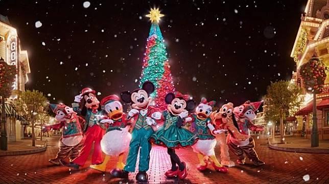 5 Cara Seru Rayakan Natal di Hong Kong Disneyland Resort