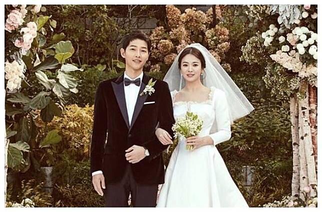 Dokumentasi pernikahan Song Jong Ki dan Song Hye Kyo