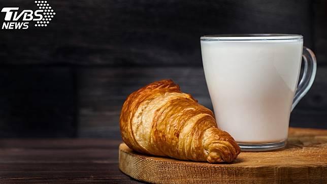 麵包牛奶示意圖/TVBS