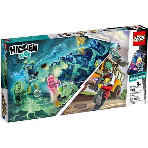 樂高積木 LEGO 2019《 LT70423 》Hidden Side 系列 - 超自然攔截巴士 3000╭★ JOYBUS玩具百貨