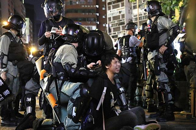 Apple approved a Hong Kong protest map and state media is lashing out