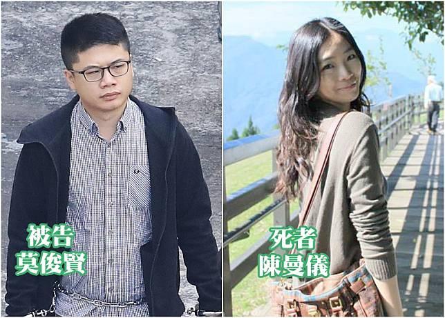 莫俊賢謀殺陳曼儀罪成,他不服提出上訴。