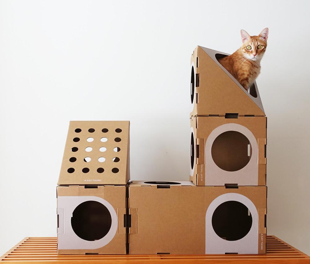 像樂高一樣自由組合的積木式貓屋 貓室6件組 現貨供應中!! 台灣免運費喔!!!! 慶祝改版升級再上市!! 5件變6件,給你更多組合,超多樂趣! ! 專利設計   組裝簡易 愛護地球   堅持環保 模組