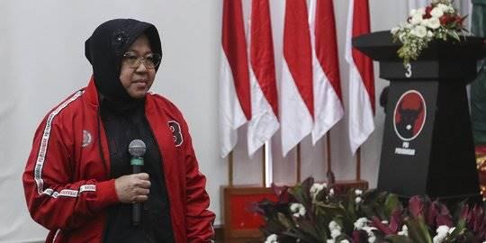 Megawati Lantik Risma. ©2019 Liputan6.com/JohanTallo