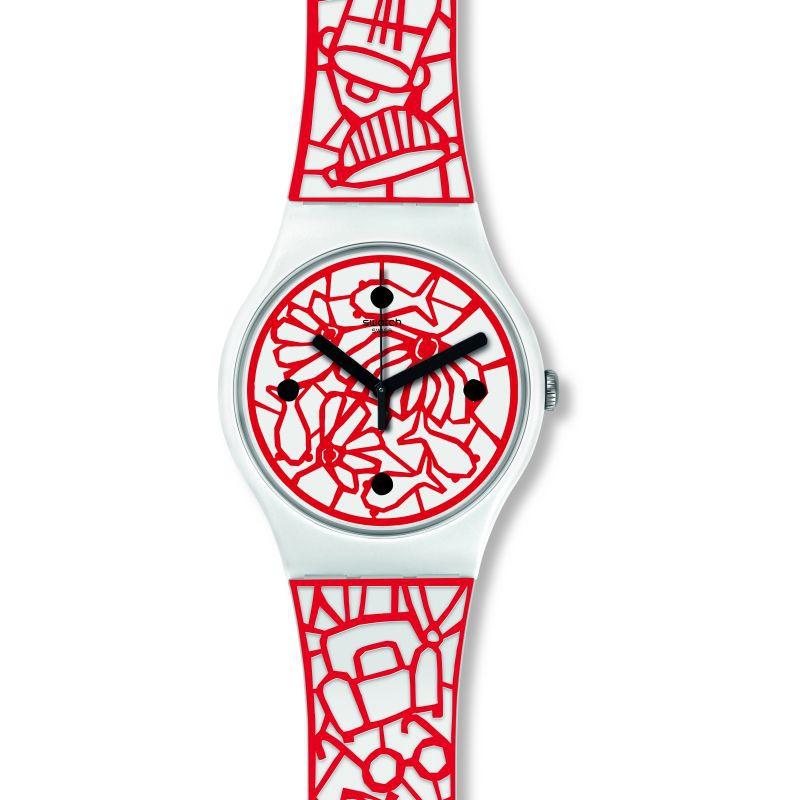 保證全新公司貨 附原廠保證卡 享原廠兩年保固系列說明:2018 Summer系列分類:Mediterranean Views功能:手錶示意機芯動力:石英錶防水:3 Bar顏色:白錶帶顏色:白錶帶材質: