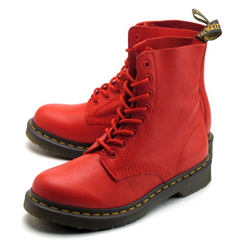 Dr.Martens Pascal 8 Eye Boots 八孔 馬丁鞋 中筒靴 (BUFFALO BLOOD 紅色)