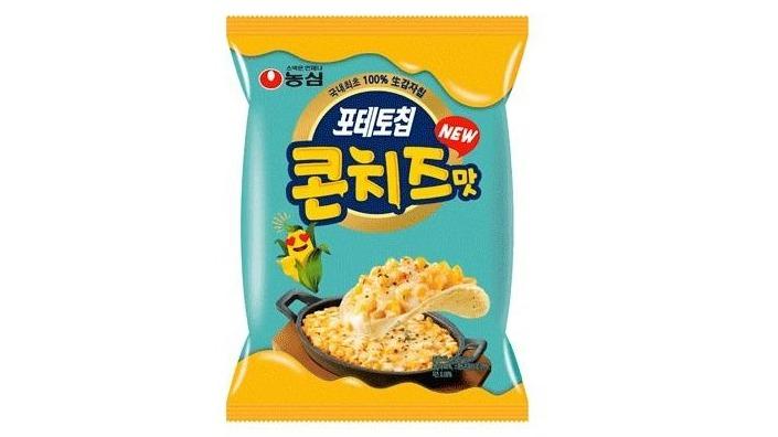 【進口零食】農心玉米起司風味洋芋片