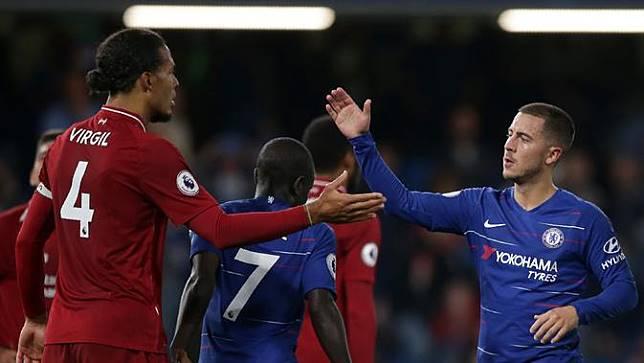 FOTO: Daniel Sturridge Selamatkan Liverpool dari Kekalahan di Kandang Chelsea