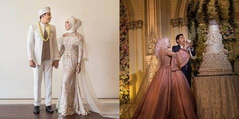 Dress Cantik Mewah Di Nikahan Medina Zein Adik Ayu Azhari
