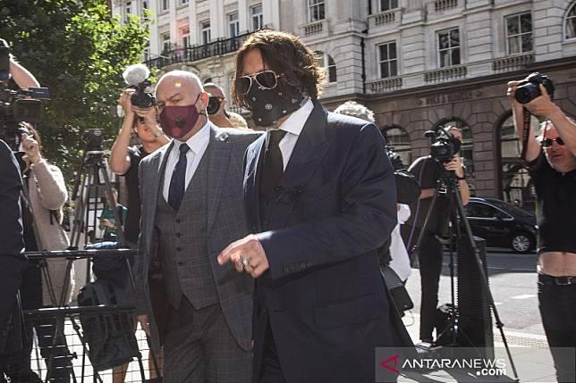 Reputasi Johnny Depp dipertaruhkan dalam kasus dugaan kekerasan