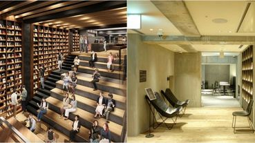 超過2000本藏書、打造一整片落地書牆!京都最新Tune Stay Kyoto飯店充滿人文風情