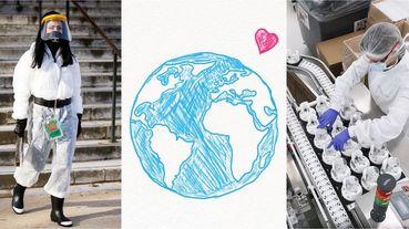 疫情見真情!LV做乾洗手、PRADA生產口罩防護衣...這些時尚品牌用「愛心接力」溫暖全世界的心