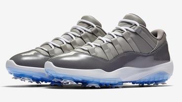 新聞分享 / 果嶺新焦點 Michael Jordan 曾上腳的 Air Jordan 11 Low Golf 'Cool Grey' 即將發售