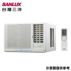SANLUX三洋冷氣 9-11坪 5級窗型右吹冷氣空調 SA-R63FEA