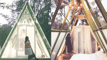 想跟男友看一片無際的星空!嘉義「星空帳篷」絕對是情侶浪漫之選!真的太美啦~