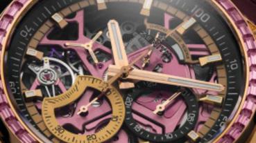 珍惜分秒大展粉紅時力!ZENITH粉紅腕錶、HUBLOT千禧粉腕錶 為後疫情時代傳遞溫暖希望