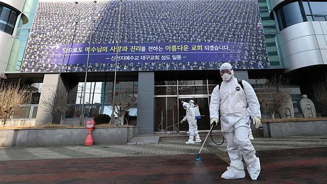 Kasus Virus Corona di Korsel Melonjak Jadi 204 Orang
