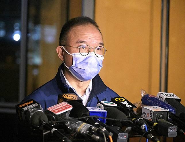 曾國衞指,自己在處理疫情的經驗較豐富,決定親自擔任指揮官。資料圖片