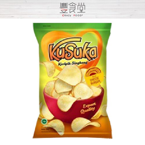 KUSUKA樹薯脆片180g (海苔全素) 【印尼薯片】