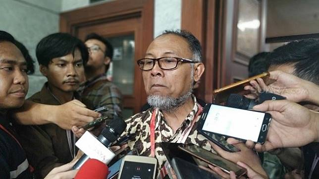 Bambang Widjojanto, Ketua Hukum Prabowo-Sandiaga di MK. (Suara.com/M. Yasir)