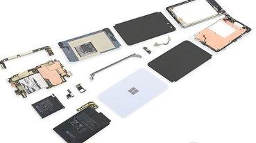 Microsoft Surface Duo 拆解報告:難以維修的工程結構