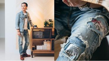當愛好搖滾的家居品牌主理人 SEAN 遇上 LEVI'S MIJ 日製牛仔褲