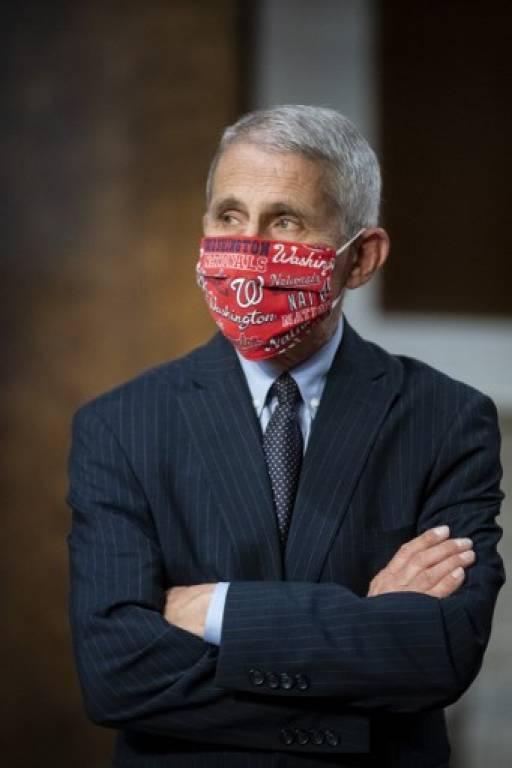 นายแพทย์แอนโทนี เฟาซี ผู้เชี่ยวชาญด้านโรคติดเชื้อคนสำคัญของสหรัฐฯเตือน วิกฤตไวรัสระบาดของสหรัฐฯอยู่ในขั้นถลำลึก Al Drago / various sources / AFP