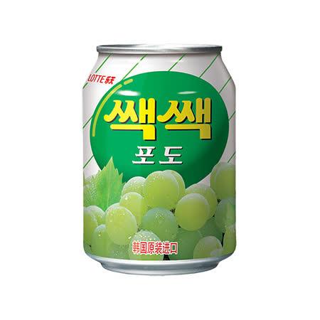 【Lotte】樂天粒粒葡萄汁238ml