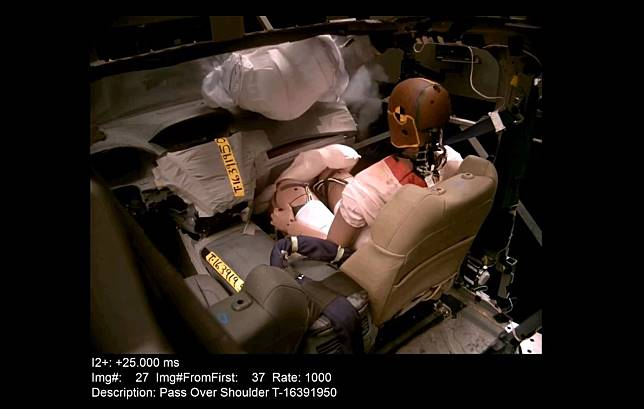 Honda kembangkan teknologi airbag baru yamg lebih aman