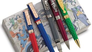 爬上筆身的漫畫角色,Montegrappa 推出DC 漫畫系列限量精品筆