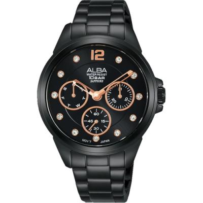 原廠公司貨 AP6641X1 星期、日期、小秒針錶盤 高規格藍寶石水晶鏡面 料號:VD75-X123SD
