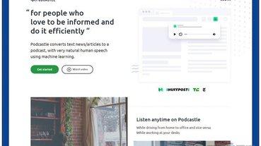 PODCASTLE 可將網路文章轉成 Podcast 的免費工具,還提供離線下載 MP3 聲音檔