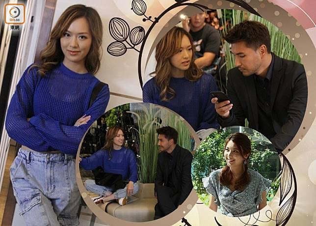 陳展鵬在劇中會與老婆的好姊妹馮盈盈談情。