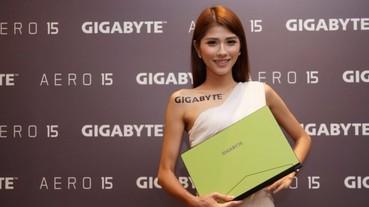 兼具便攜性與效能的電競筆電!全球最薄邊框 GIGABYTE AERO 15驚艷登台!