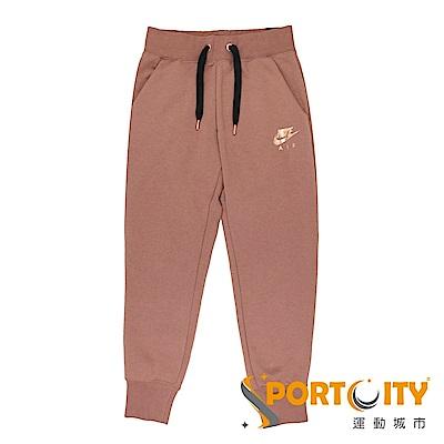 品名:NIKE AS W NSW AIR PANT REG FLC 可調式褲頭,便於自行調整舒適度羅紋褲管口設計,有助長褲穩固定位