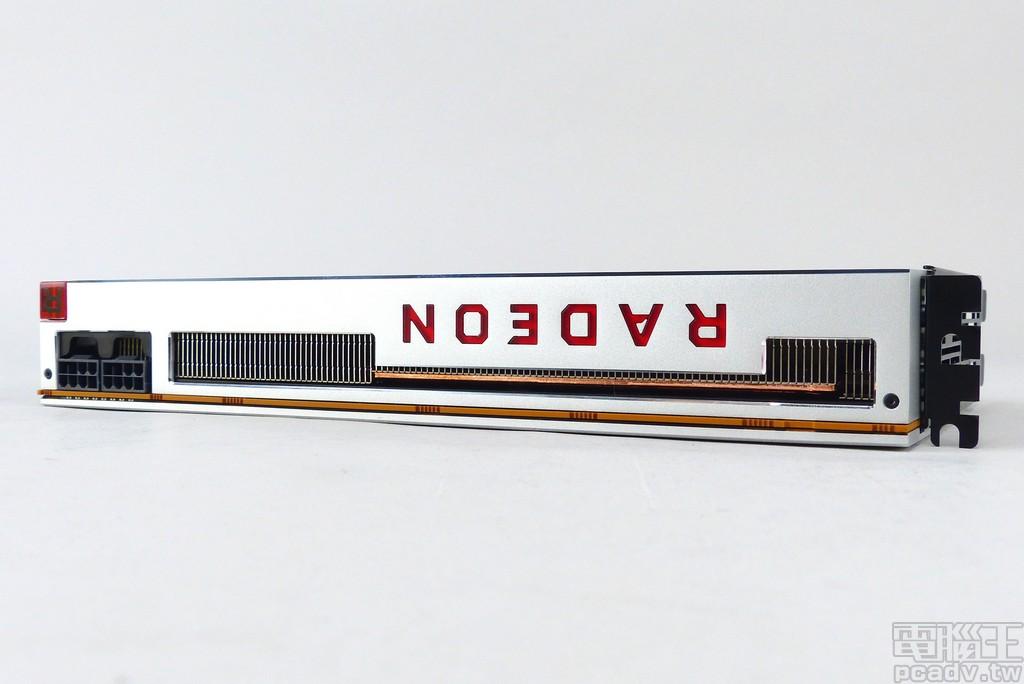 Radeon VII 身材為 2 個介面卡擴充槽厚度