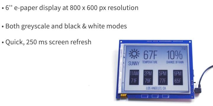 其螢幕尺寸為8吋,解析度則為800 x 600。