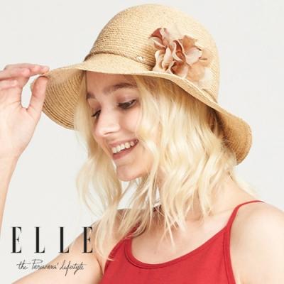 法國知名 設計品牌蝴蝶結裝飾可折疊 方便攜帶優質進口拉菲草