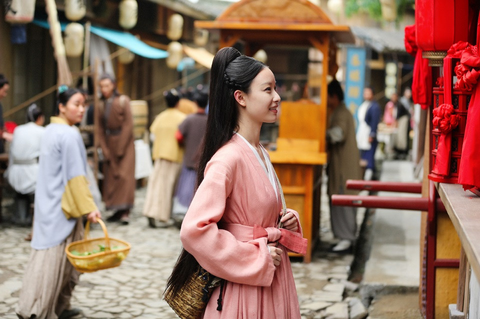 古裝劇「粉衣女神」5:倪妮《宸汐緣》