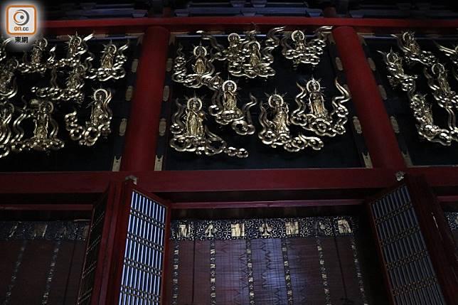 本堂於江戶中期重建,做工精美而且莊嚴。(李家俊攝)