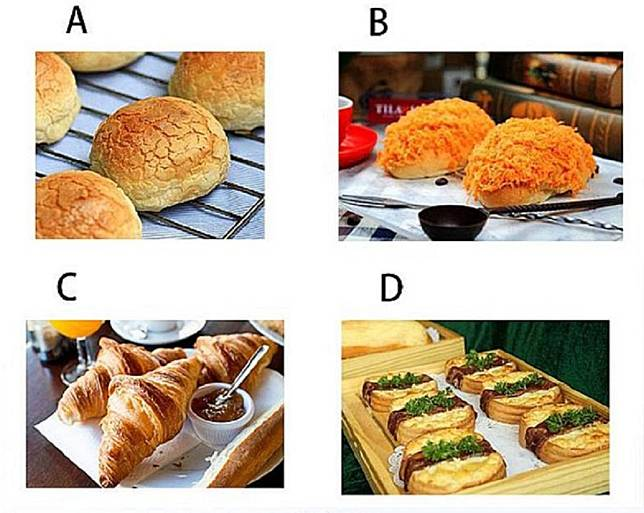 ▲心還在放假?選一個想吃的麵包,秒解你的「今日運勢」。(圖/翻攝自Look Pretty)